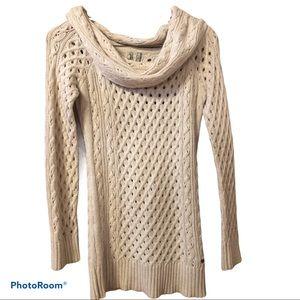 GUESS angora blend cowl neck knit sweater